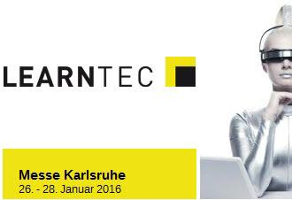 LEARNTEC 2016 - Learning with IT, Karlsruhe, Germany, 26-28 January, 2016